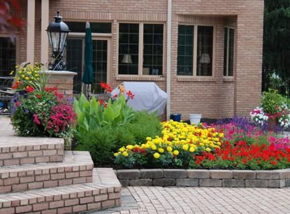 Residential Landscape Flowers