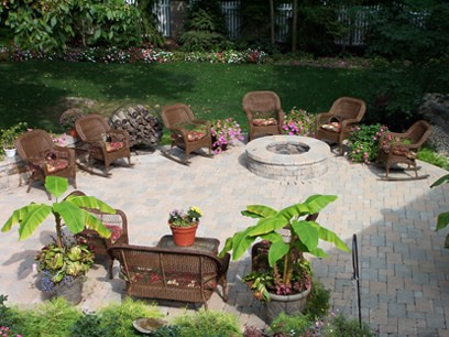 Paver Patios Can Add A Whole New Room To Your Home. In The Picture Above,  The Homeowner Was In Need Of A New Space To Entertain Family And Friends.